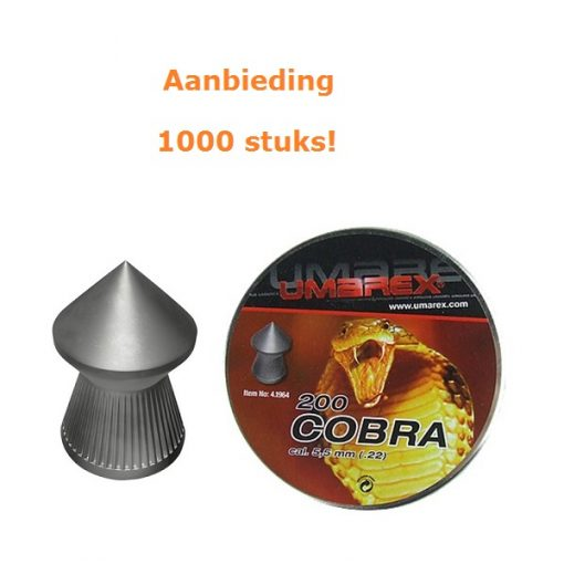 Umarex Cobra 5,5 mm aanbieding