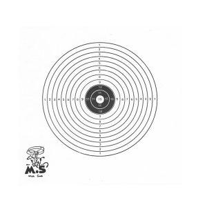 Schietschijf 14x14Cm 1 roos