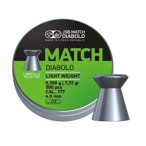 JSB Match Diabolo Light Weight Green