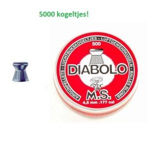 Ansia Diabolo platkop 4,5 mm 5000 stuks