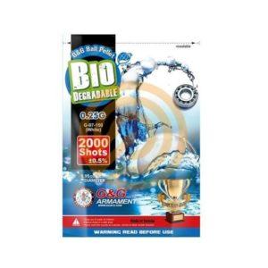 G&G BIO BB 0.25G WHITE 2000 Stuks