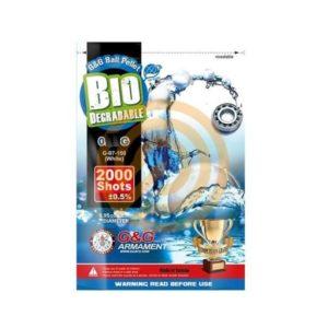 G&G BIO BB 0.28G WHITE 2000 Stuks