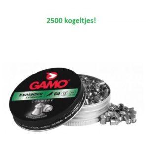 Gamo Expander 2500 stuks!