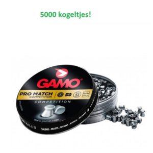 Gamo Pro Match 4,5 mm 5000 stuks