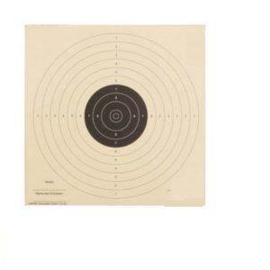 Schietkaart 10 meter luchtpistool 14x14